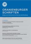 Cover Oranienburger Schriften 4/2009