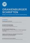 Cover Oranienburger Schriften 5/2010