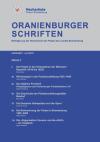 Cover Oranienburger Schriften Nr. 1/2019